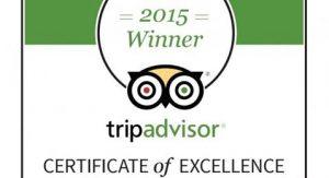 ¡Obtuvimos el Certificado de Excelencia 2015 de TripAdvisor!