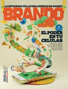 Te compartimos el fragmento de la nota de Revista Brando que habla de Helados Búffala.