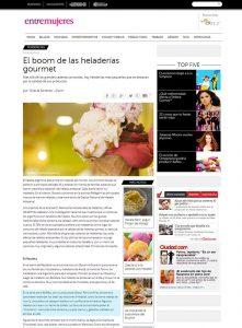 Búffala en el Diario Clarín en el en el suplemento Ollas y Sartenes