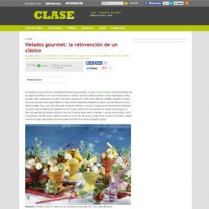 Búffala en el ranking de Heladerías Exóticas de Revista Apertura